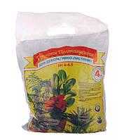 Субстрат Грунт Полтавщини для декоративно-лиственных растений 4 л (listv4l)
