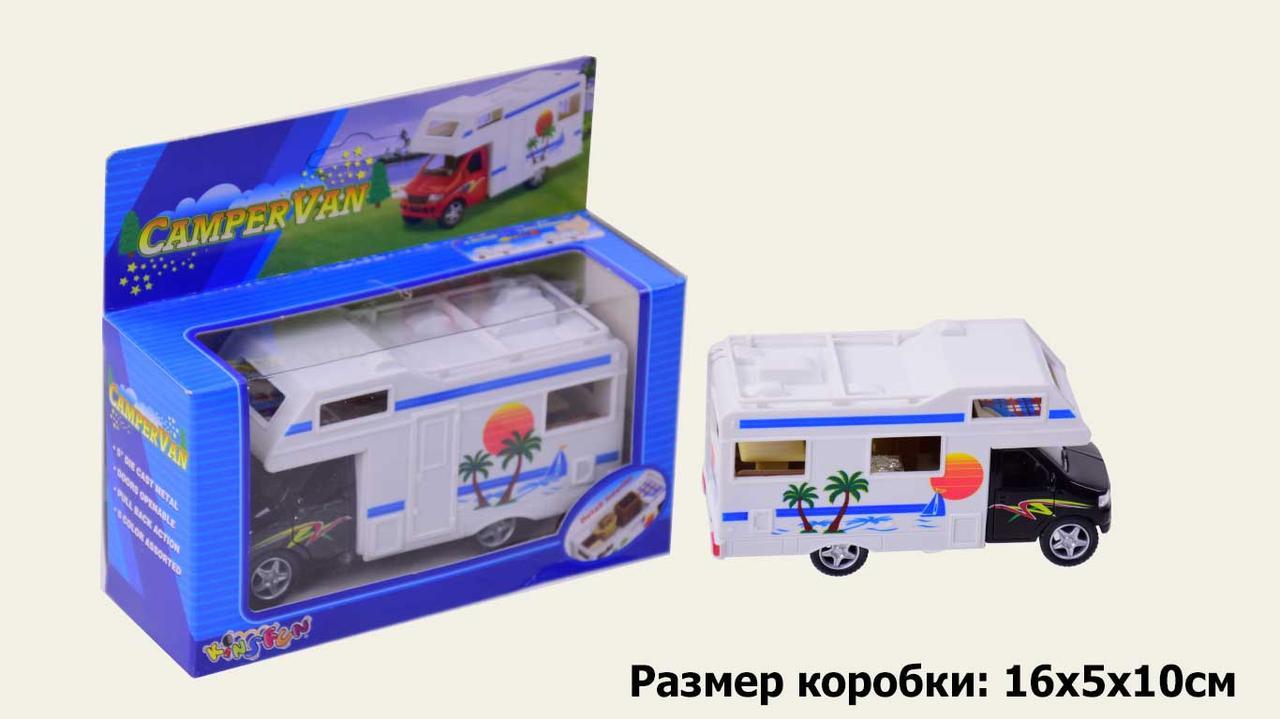 "Машина метал ""KINSMART"" KS5252W ""CamperVan"" (96шт/4) в коробці 16*8*7,5см"