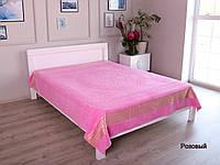 Покрывало Велюр - Махра (Пике) турецкого производства, евро размер , бренд KAYRA Розовый