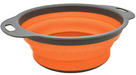 Дуршлаг MHZ GG05-1 20х24.5 см, серо-оранжевый