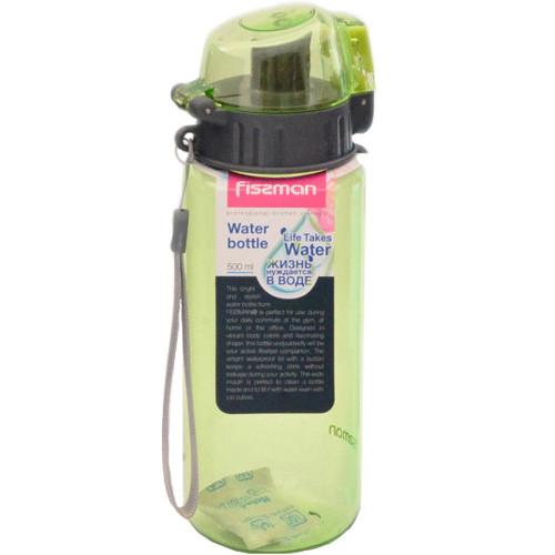 Бутылка для воды Fissman #5 500 мл зеленая (6845)