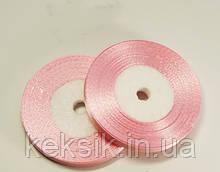 Лента Атласная Нежно Розовая 0,5см 23м