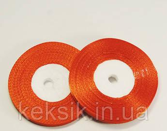 Лента Атласная Морковно-оранжевый 5 мм