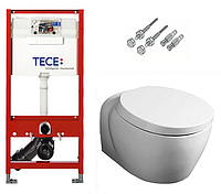 Инсталляция TECE с подвесным унитазом SIMAS Bohemien + крышка Softclose, фото 1
