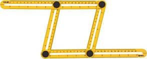Шаблон -линейка VOREL 18470 для переноса измерений 310 х 175 х 25 мм
