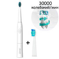 Звуковая электрическая зубная щетка SEAGO SG-503 E23, 2 насадки
