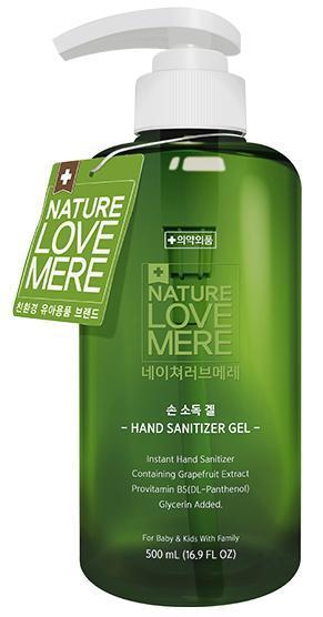 NATURE LOVE MERE - Антисептик дезинфектор для рук, гелеобразный (NLM) 500ml