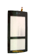 Сенсор (тачскрин) LG KF600 Black High Copy