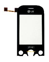 Сенсор (тачскрин) LG KS360 Black Original