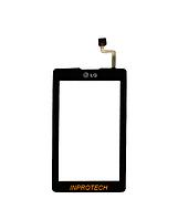 Сенсор (тачскрин) LG KP500 Black Original