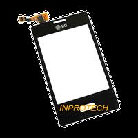 Сенсор (тачскрин) LG E400 Optimus L3 Black Original