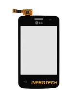 Сенсор (тачскрин) LG E435 L3 II Dual Black Original