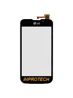 Сенсор (тачскрин) LG E455 Optimus L5 Dual SIM Black Orig