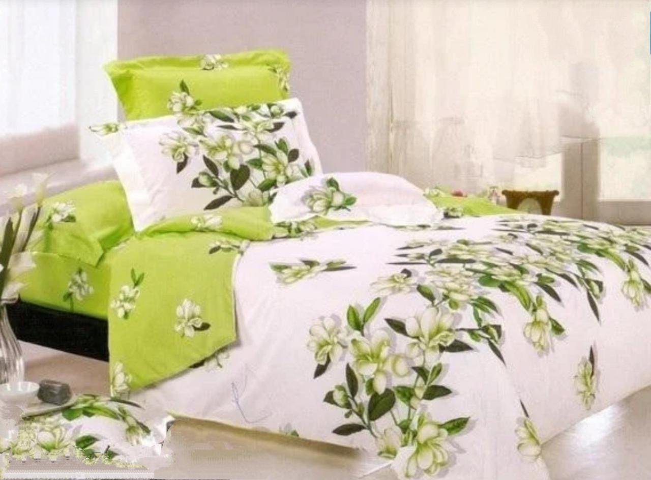 Комплект постельного белья полуторный Бязь GOLD 100% хлопок Амина