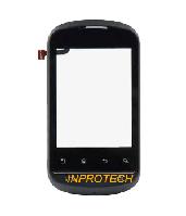 Сенсор (тачскрин) LG P350 с рамкой Black Orig