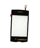 Сенсор (тачскрин) LG P520 Black Original