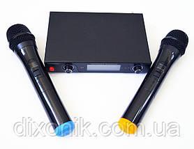 Бездротова радіосистема Shure LX-800 2 радіо мікрофона з базою