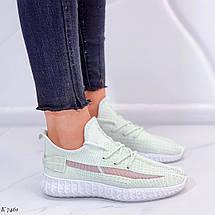 Светло зеленые кроссовки, фото 3