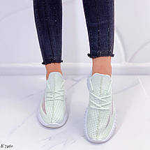 Светло зеленые кроссовки, фото 2