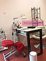 Маникюрный столик с вытяжкой Turbo Teri, УФ-лампой и ящиком Карго, фото 5