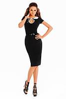 Вечернее элегантное  трикотажное платье 109