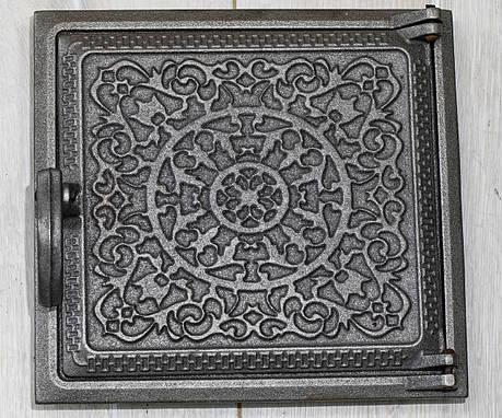 Чавунні дверцята топкові 260х240 мм, фото 2