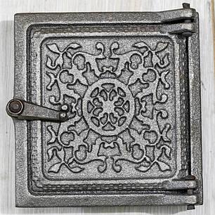 Чавунні дверцята сажотруска 135х130 мм, фото 2
