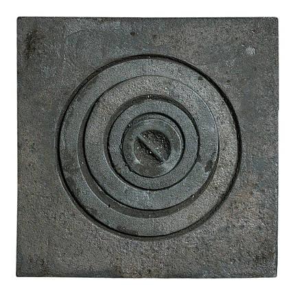 Плита чугунная 1 комфорочная 400х400 мм, фото 2