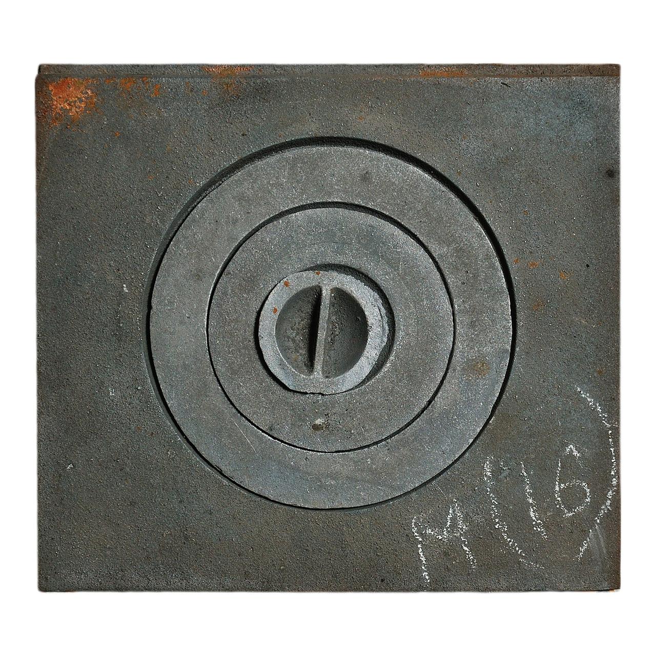 Плита чавунна 1 - комфорочная 370х410 мм