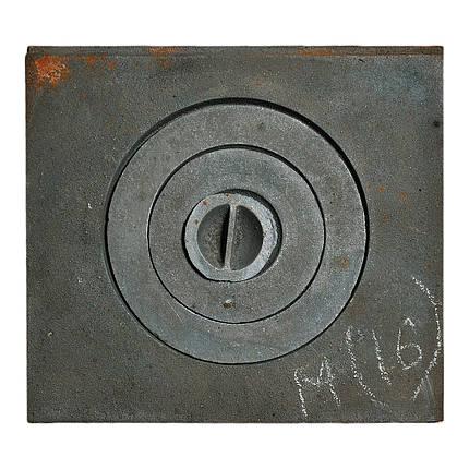 Плита чавунна 1 - комфорочная 370х410 мм, фото 2