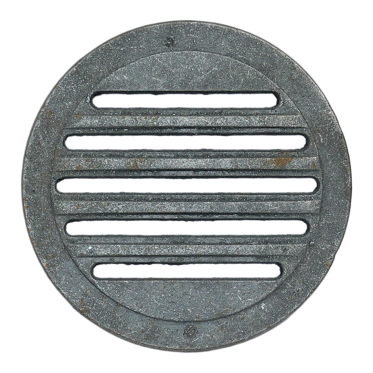 """Решітка чавунна """"Титан"""" кругла Діаметр 280 мм"""