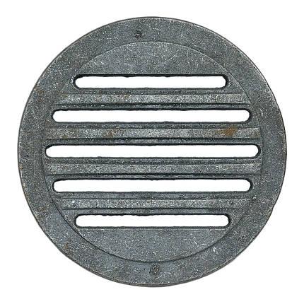 """Решітка чавунна """"Титан"""" кругла Діаметр 280 мм, фото 2"""