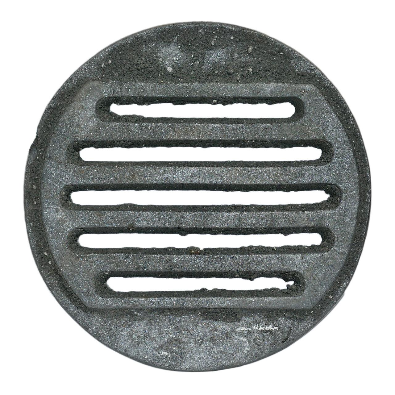 """Решітка чавунна """"Титан"""" кругла діаметр 285"""