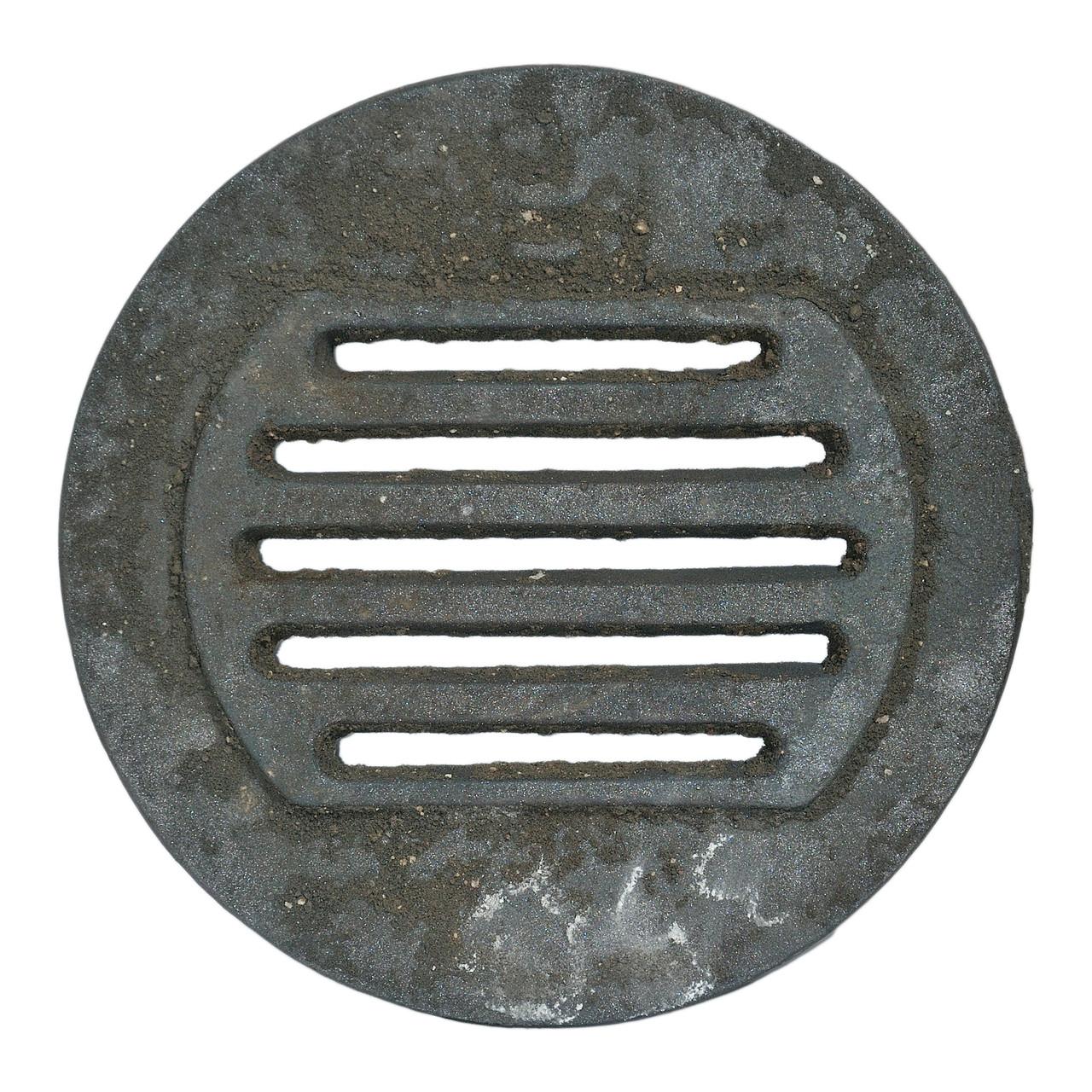 """Решітка чавунна """"Титан"""" кругла діаметр 350"""