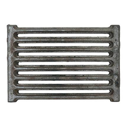 Решетка чугунная  (кокель) 300х200, фото 2