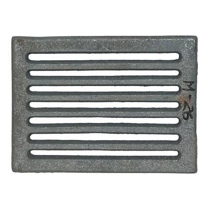 Решетка чугунная для печи   225х165 (8 рядов), фото 2