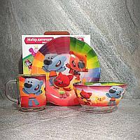 Подарунковий набір посуду для дітей МіМіМишки (A9551/2)