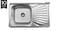 Кухонная стальная мойка Galati Constanta Satin 7138, фото 1