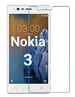 Защитное стекло на Nokia 3 прозрачное 2.5 D 9H (нокиа 3)