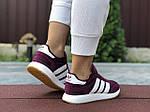 Женские кроссовки Adidas Iniki (фуксия) 9647, фото 4