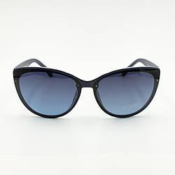 Сонцезахисні окуляри з поляризацією Burberry сині