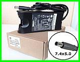 Блок Питания DELL 19.5v 4.62a 90W штекер 7.4 на 5.0 (ОРИГИНАЛ) Зарядка Адаптер для Ноутбука, фото 4