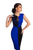 Оригинальное  вечернее трикотажное платье 116