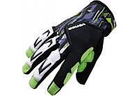 Перчатки VENZO VZ-F29-006 с пальцами L зеленые