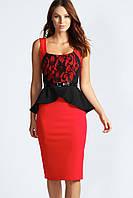 Элегантное деловое платье, фото 1