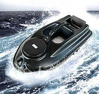 Прикормочный радиоуправляемыйкораблик Boatman ACTOR 5A  для рыбалки, завоза прикормки, наживки 2 бункера, фото 1