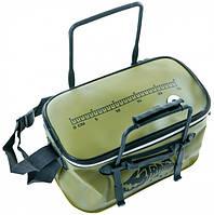 Сумка для рыбалки Tramp Fishing bag EVA Avocado-S, фото 1