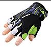 Перчатки VENZO VZ-F29-007 без пальцев L зеленые
