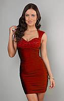 Мини платье вечерние Miss Lusien короткое Украина недорого