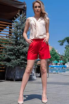 Красные летние шорты Клайм софт